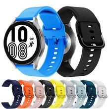 Correa de reloj para Samsung Galaxy Watch Active 2, pulsera deportiva de 20mm, 40mm, 44mm, 40mm, 42 46mm