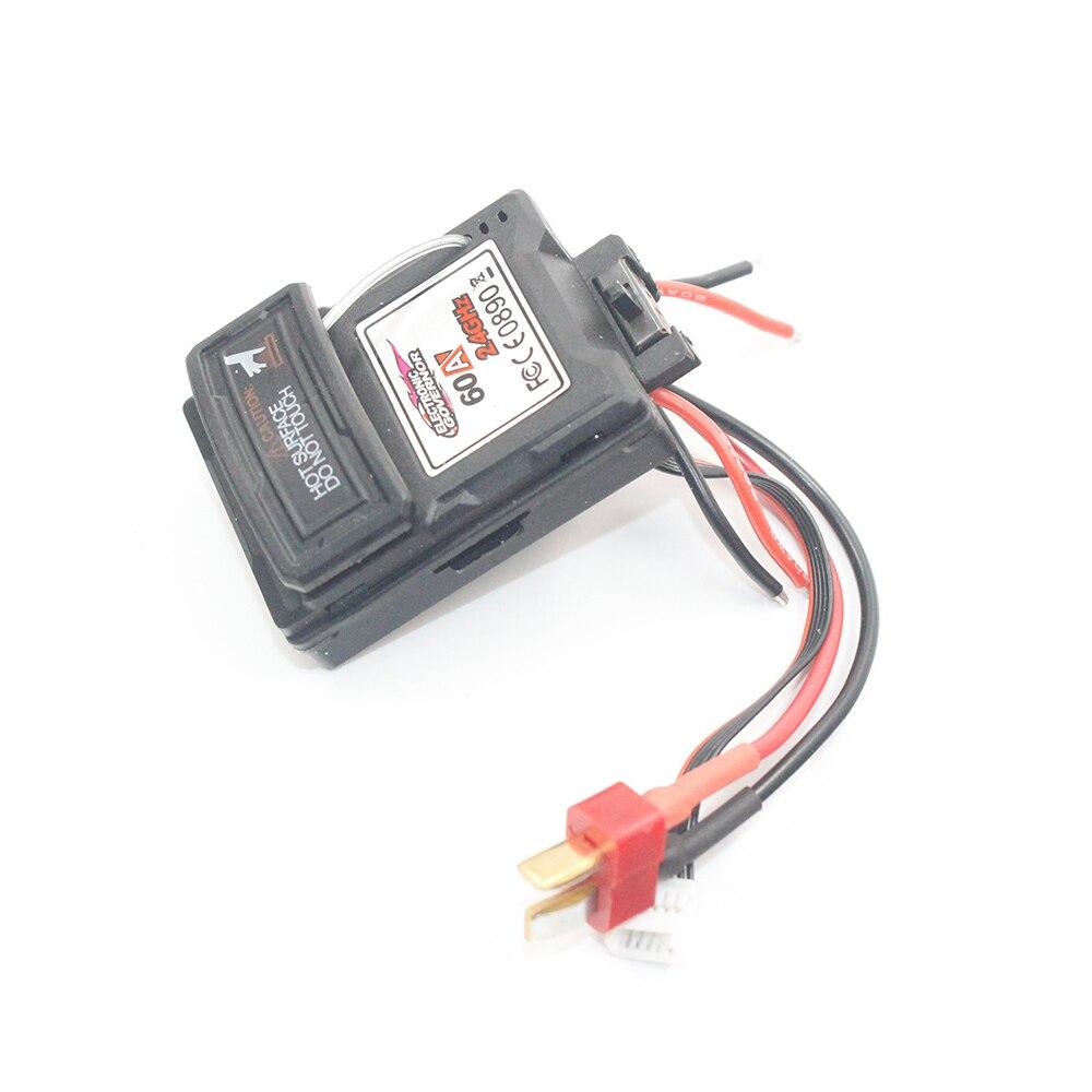 XLH 9125 Receiver ESC 2 in 1 Mainboard Shaft 25-ZJ07 Spare parts