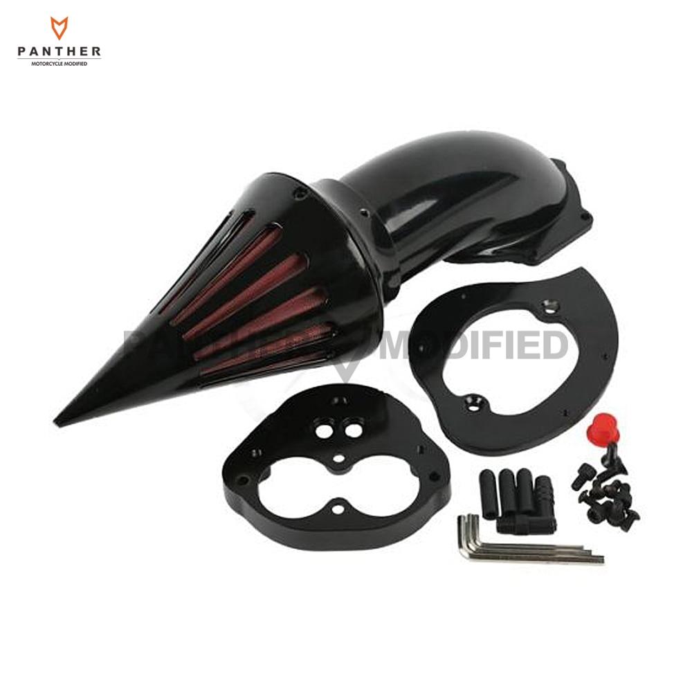 Noir Filtre À Air Moto Kits filtre dadmission pour Kawasaki Vulcan VN 1500 1600 2000-2012 01 02 03 04 05 06 07 08 09 10 11