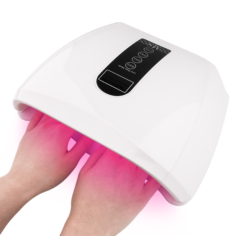 New Style 96W Fast Drying UV Lamp for Nails Gel Polish Curing Lamp Care Red Light Lamp Nail Dryer Auto Sensor Manicure Tool
