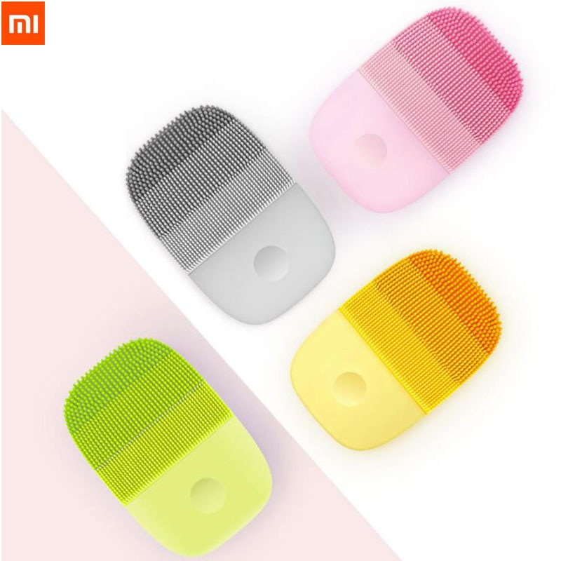 Xiaomi inFace Electric Deep Facial Cleaning Massage Brush Sonic Face Washing IPX7 Waterproof Silicone Face Cleanser Skin Care недорого