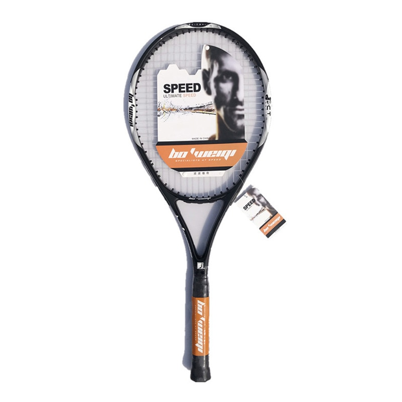 Tennis Racket Carbon Tennis Racquets With Tenis Bag Grip Men Women Training Beginners Padel Raqueta Raquete De Tenis