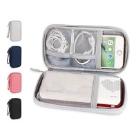 portable travel electronic accessories protection storage case power bank bag usb charger gadgets cables wires organizer pouch