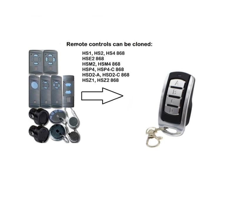 Для HSE2 868 MHz дверь гаража дистанционное управление HSM2, HSM4 868 дверь гаража дистанционное управление ворота