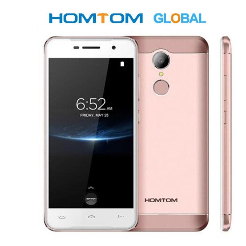 Оригинальный HOMTOM HT37 Pro смартфон 4G MT6737 5,0 дюймов HD Android 7,0 сотовый телефон 3 + 32 Гб 13 МП 3000 мАч отпечаток пальца ID