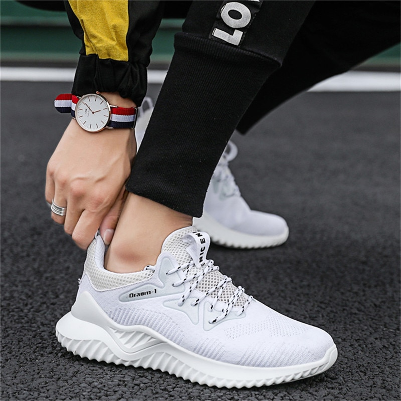 Men's Fashion Sneakers Comfortable Outdoor Casual Breathable Sports Shoes Men Running Shoes Zapatill