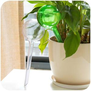 Automatic Plant Waterer Imitation Glass Ball Transparent Dripper Plant Pot Bulb Globe Garden House Watering Device