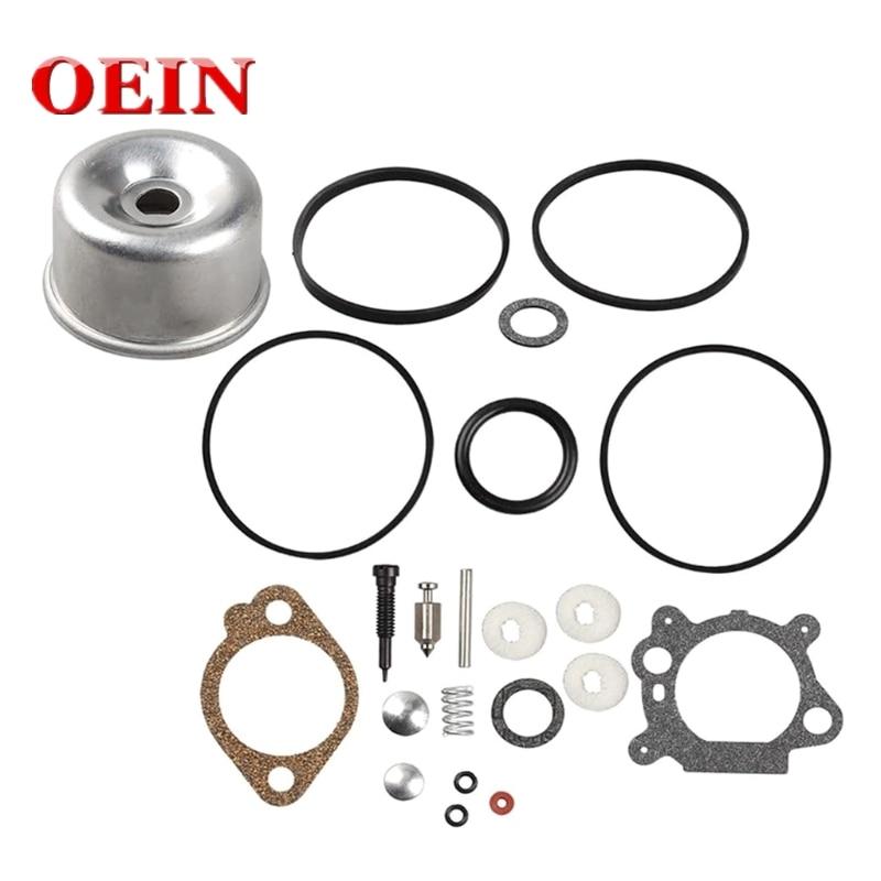 493762 Carburetor Float Bowl Seal Ring O Gasket Overhaul Kit for 796611 493640