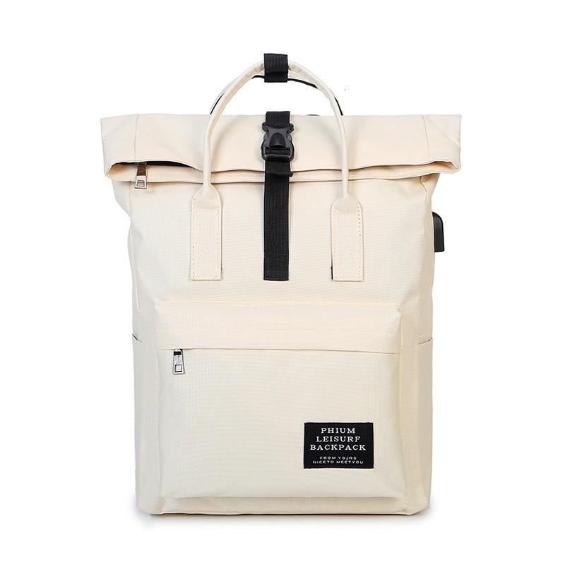 TTOU USB Backpack Women Leisure Back Pack Korean Ladies Knapsack Casual Travel Bags School Girls Classic Bagpack Laptop bag