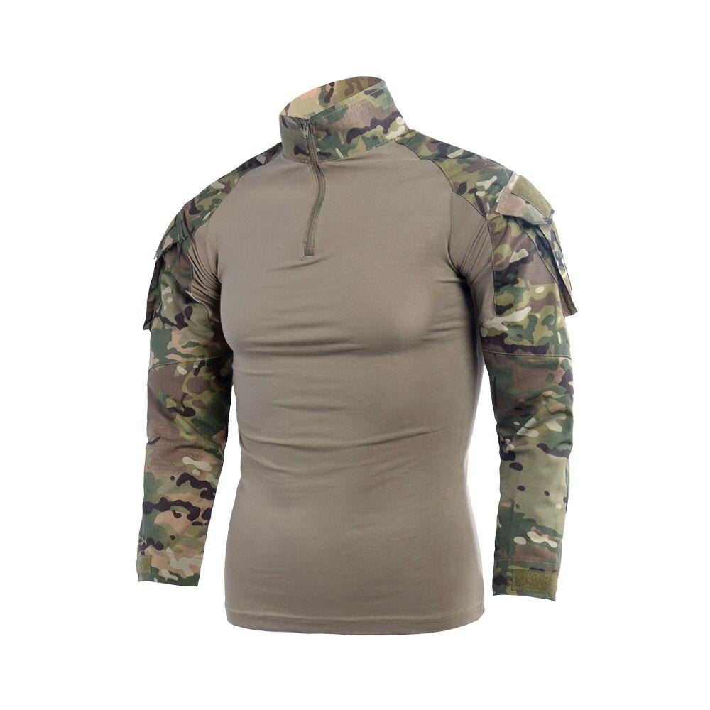 Военная армейская Униформа Gen2 BDU, боевая рубашка, тактическая куртка, Черная Мужская камуфляжная одежда для игры CS, страйкбола, снайпера, пей...