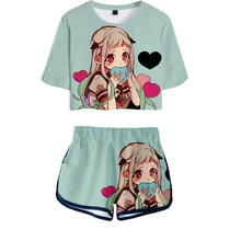 Neue Wc-gebunden Jibaku Shounen Hanako-kun Hanako kun T-shirt cosplay kostüm kurze Tees