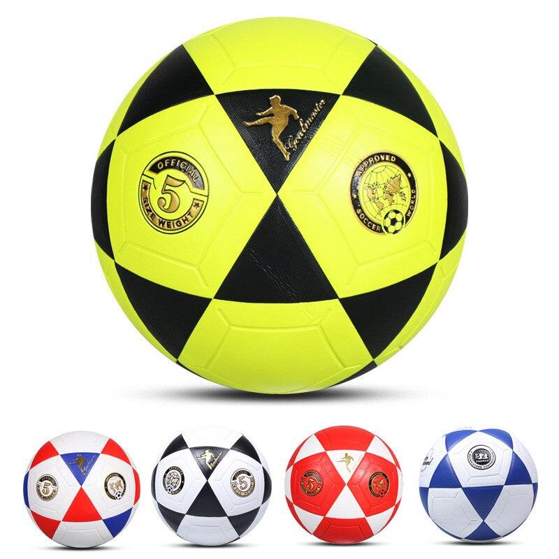 Футбольные мячи футбол размер 5 футбольный мяч 5 профессиональный спортивный оригинальный мяч для команды футбольной лиги стандартный мяч ...