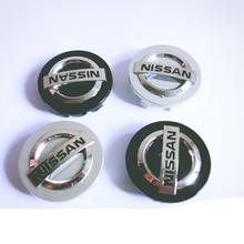 1PCS 60MM Car Wheel Center Hub Caps Badge Emblem Decal Wheel Rim Cover for Nissans Nismo X-trail Almera Qashqai Tiida Teana