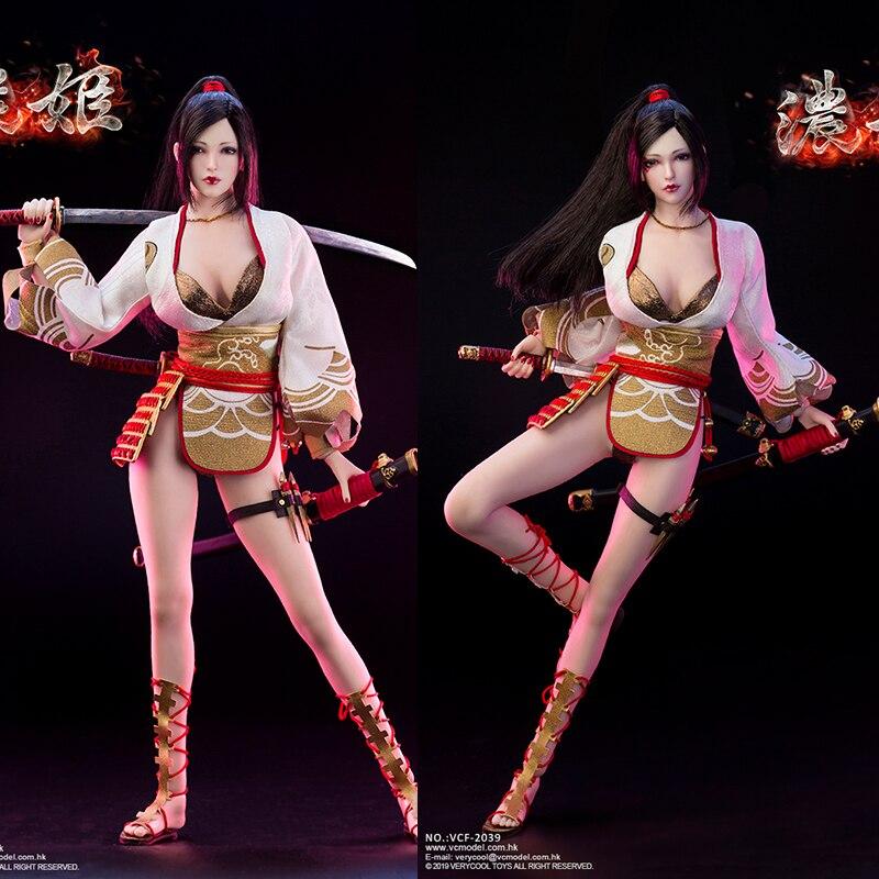 VERYCOOL VCF-2039 1/6 Hime Fongyun série Nohime femme guerrier mobile jeu de marionnettes anime personnage en stock