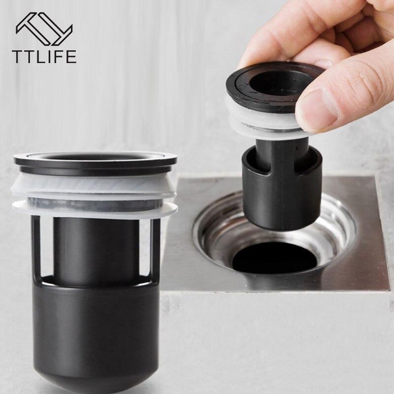 TTLIFE, cocina, inodoro, desagües de silicona, núcleo de alcantarillado, desodorante para baño, cubierta de colador de drenaje de residuos, filtro de reflujo Anti-olor