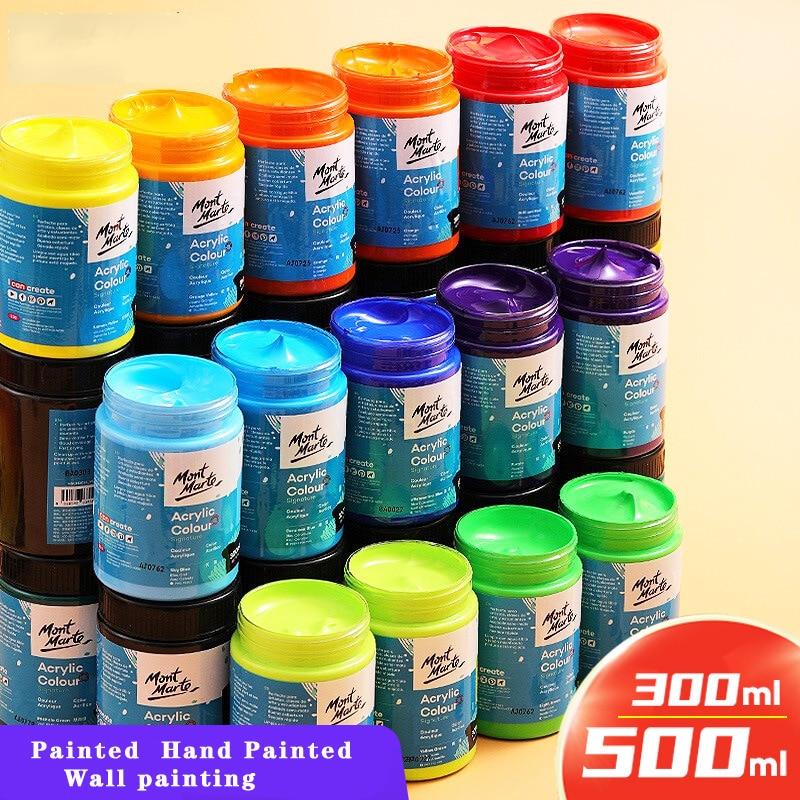 Gouache Paint Set 500ml Washable Children's Paint Painting Drawing Watercolor Coloring Toddler Education Children's Art Pigment