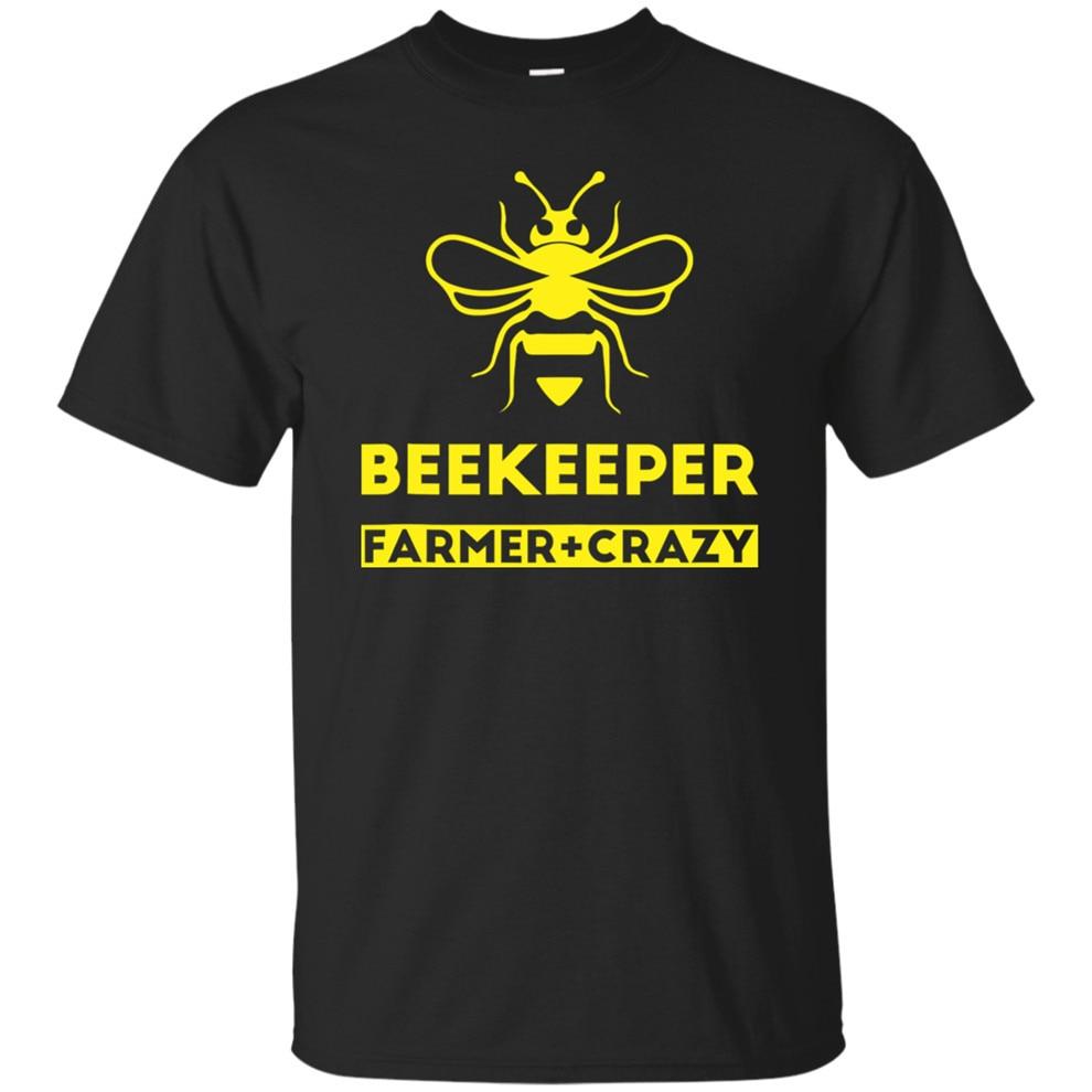 Apicultor para hombre Crazy Funny Honey Bee Lover Camiseta talla M-3Xl Estilo libre camiseta