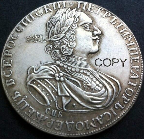 Оптовая продажа, 1724 российский рубль, 1 шт, 100% Копер, серебряное покрытие