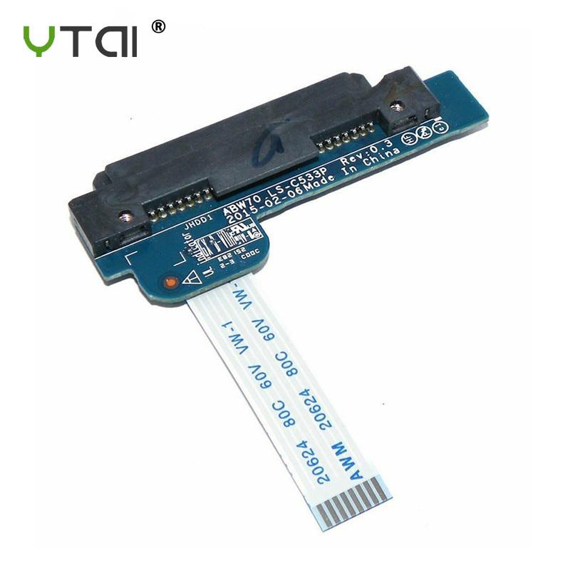 ABW70 LS-C533P HDD conector Flex Cable para HP envidia 17-N 17T-R M7-N M7-N101DX portátil SATA SSD Disco Duro adaptador de Cable