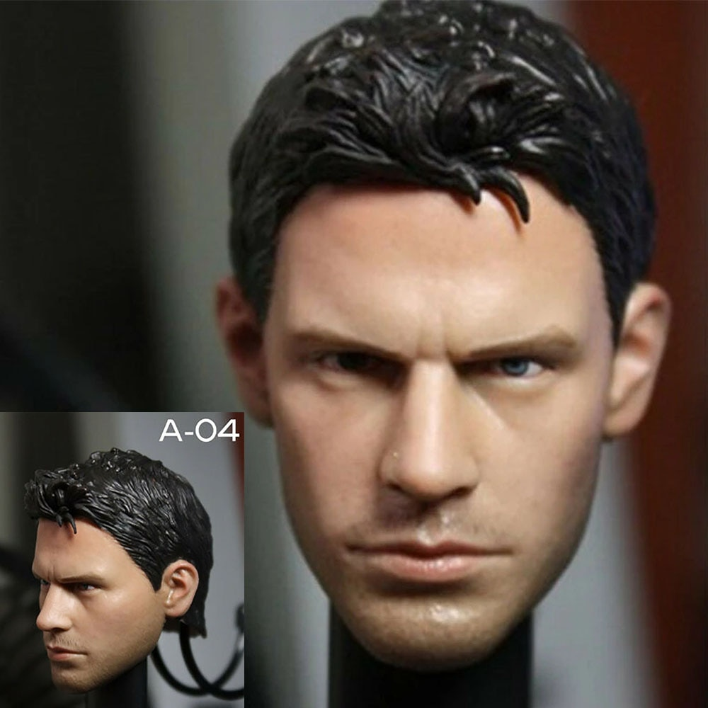 1/6 Chris Head Sculpt Man Head Carving Model Toy For 12 Male Action Figure Body In Stock in stock gc018 1 6 scale beauty european girl head sculpt ivanka trump head carving toy 4 styles for 1 6 female action figure
