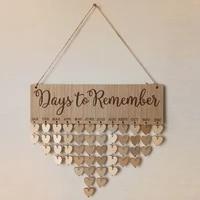 chritsmas advent calendar diy wall birthday wedding days calendar reminder board home hanging decor ornament new year 2022