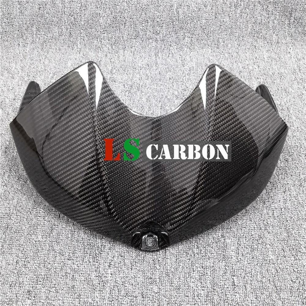 Para Yamaha YZF-R6 2008-2016 accesorios de fibra de carbono para motocicleta carenado de cubierta de tanque