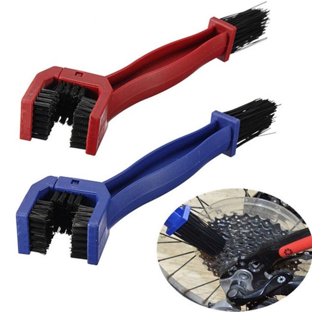 Велосипедная цепь Чистящая Щетка Очиститель велосипедных колес очистка скруббер инструмент велосипедные цепи кольца Freewheel Cogs Инструменты для ремонта