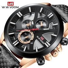 2021 Luxury Business Men's Watch Black Casual Quartz Watch for Men Big Dial Waterproof Fashion Dress