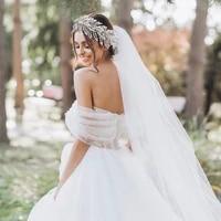 luxury forehead bridal headwear wedding crown and tiara crysral bridal headdress rhinestone headpieces bridal hair jewelry