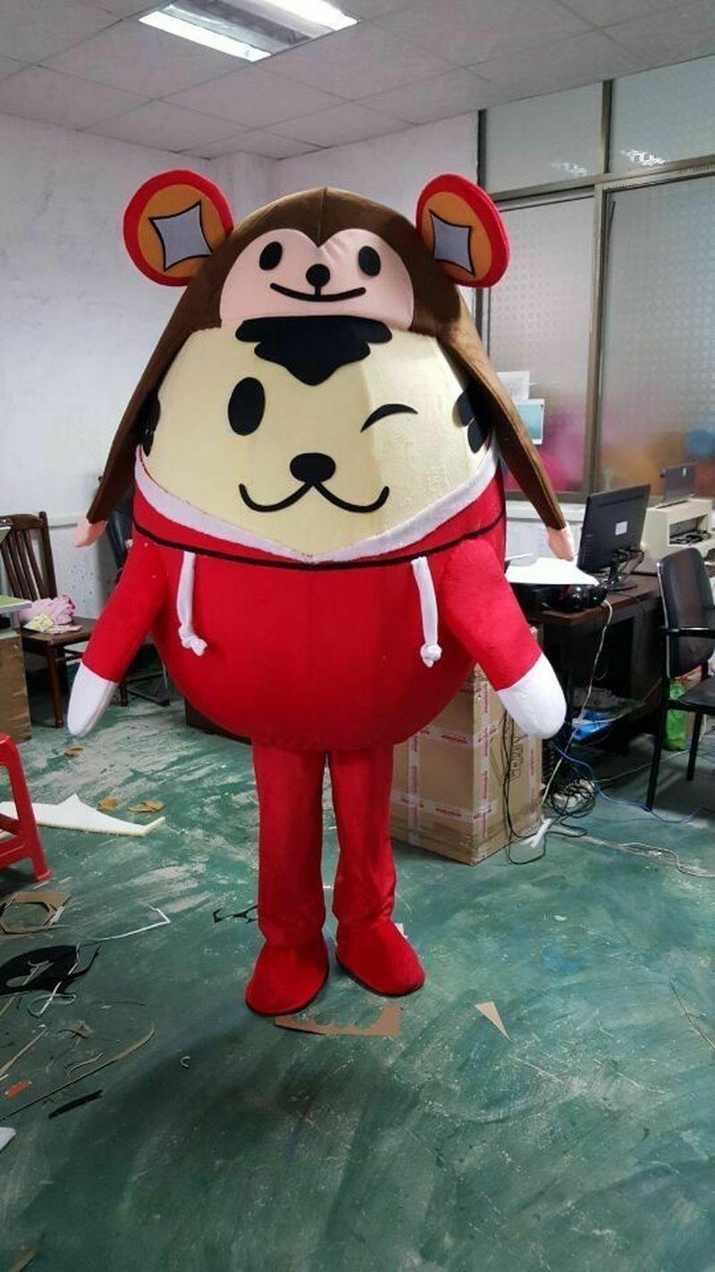 Disfraz de Mole Mascot, disfraz de ratón, Gophers, vestido elegante de dibujos animados, ropa de Evento de Navidad, personaje de dibujos animados, ropa de cumpleaños