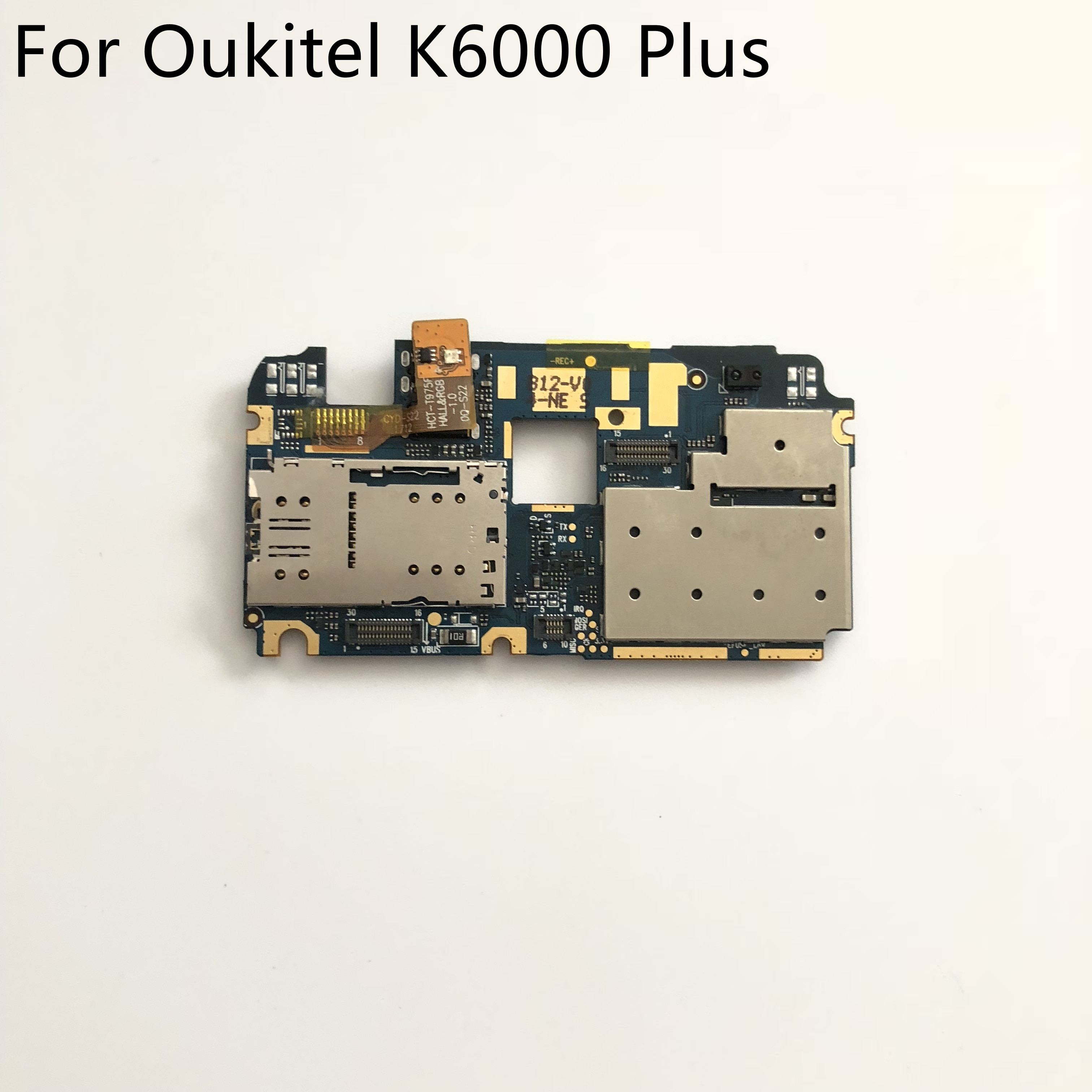 "Oukitel K6000 Além Usado 4G RAM + 64G ROM Motherboard Mainboard Para Oukitel K6000 Plus MTK6750T 5.5"" FHD 1920x1080 Do Telefone Móvel"