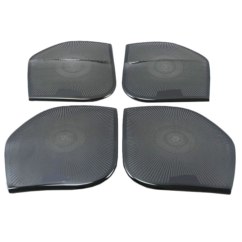 For Toyota Land Cruiser 200 2012 2013 2014 2015 2016 2017 2018 2019 Stainless Steel Door Horn Front Door Audio Sound Cover enlarge