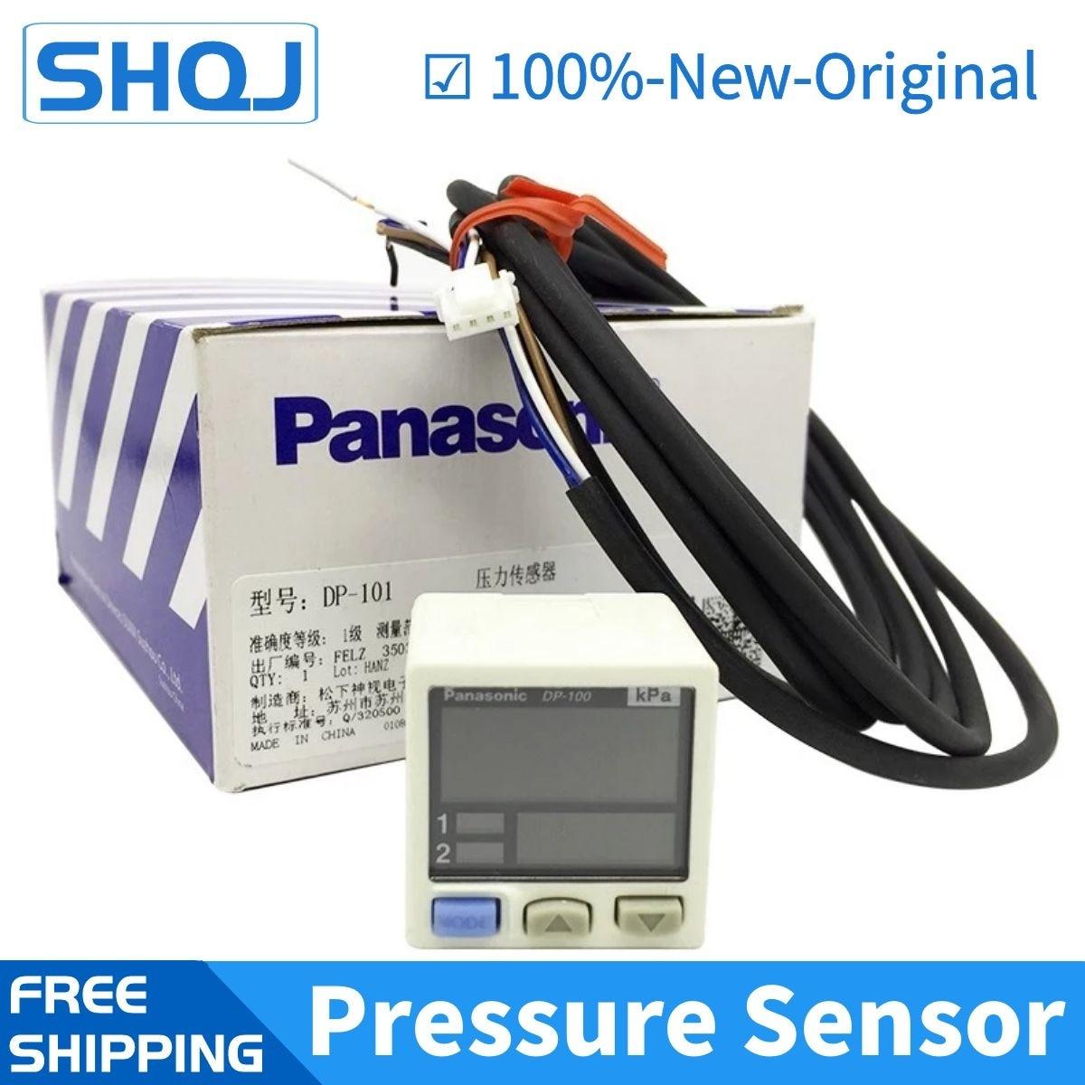DP-101 102/101A/102A/011/012 NPN الرقمية فراغ الضغط السلبي الاستشعار تحكم الضغط-100 إلى + 100 كبا 100% جديد وأصلي