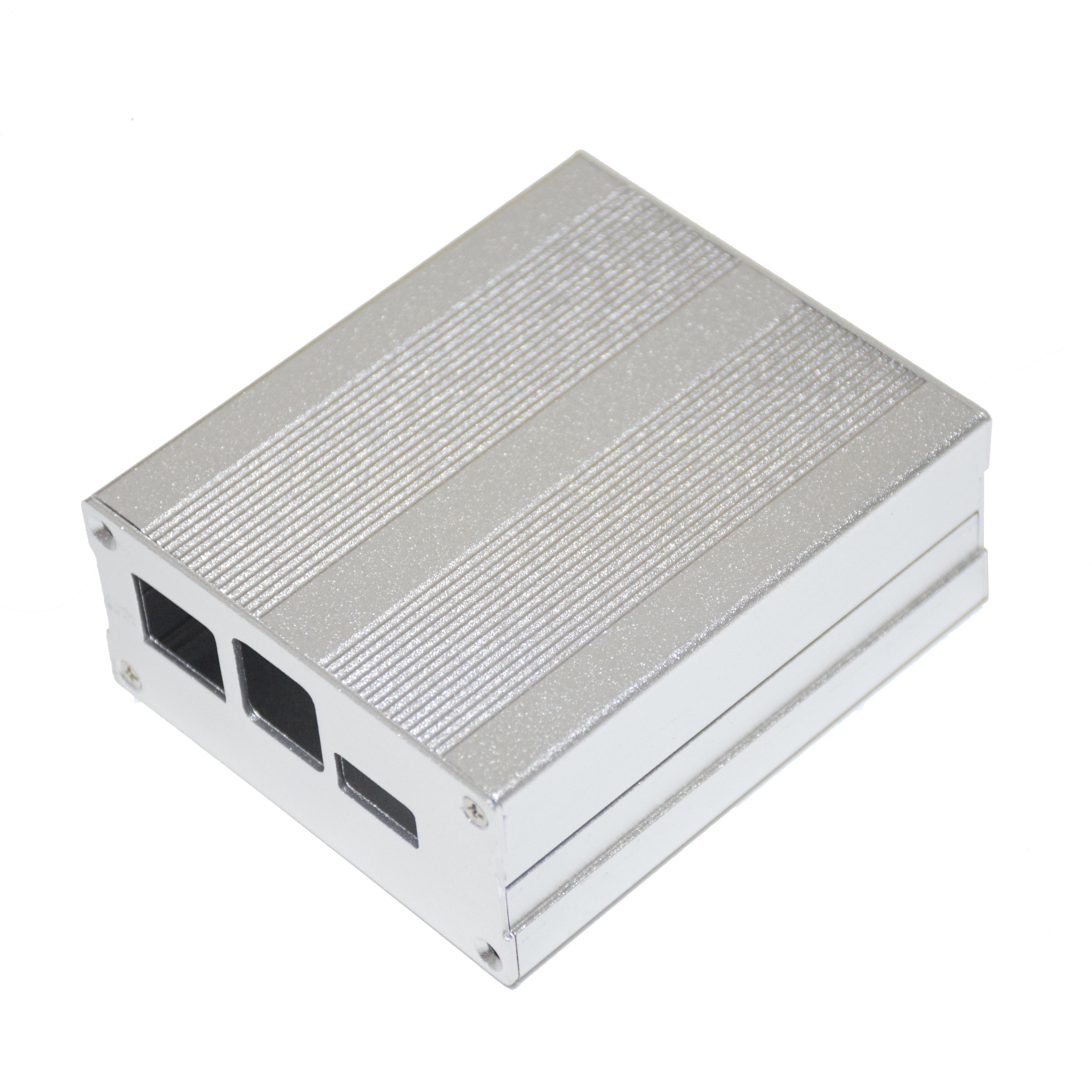 Aluminum Alloy Case For PINE64 ROCK64 demo Board Enclosure Case