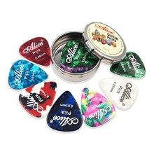 12/20/24 pièces guitare électrique acoustique Pick Plectrums et pics en métal rond
