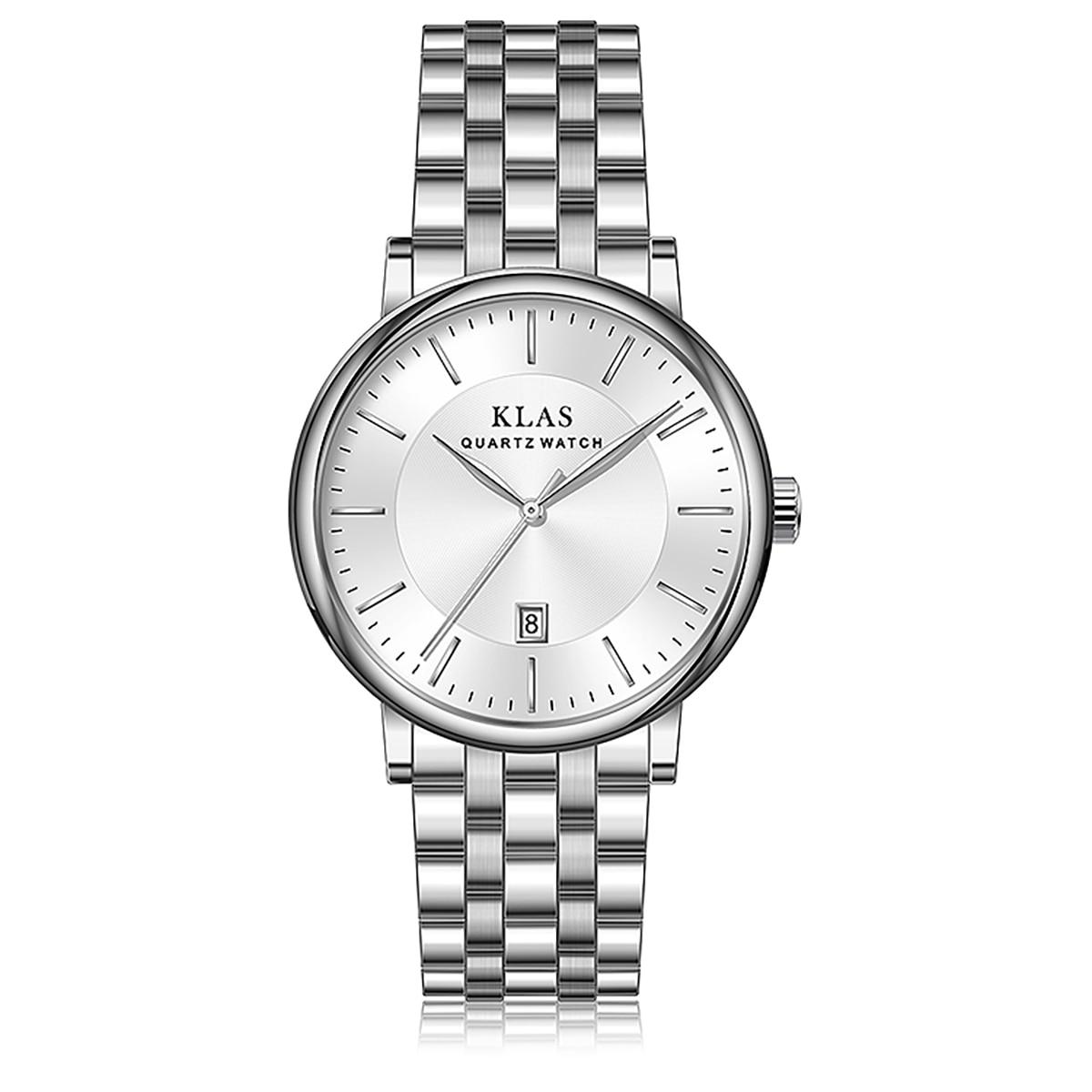 Новые мужские кварцевые часы, бренд KLAS