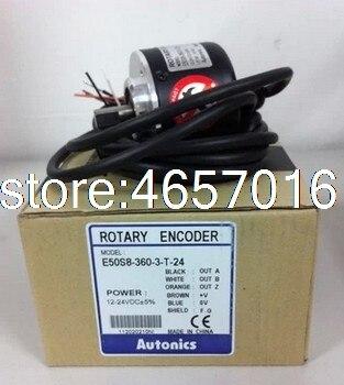E50S8-360-3-T-24 E50S8-600-3-T-24 E50S8-1000-3-T-24 E50S8-500-3-T-24 AUTONICS  New Rotary Encoder
