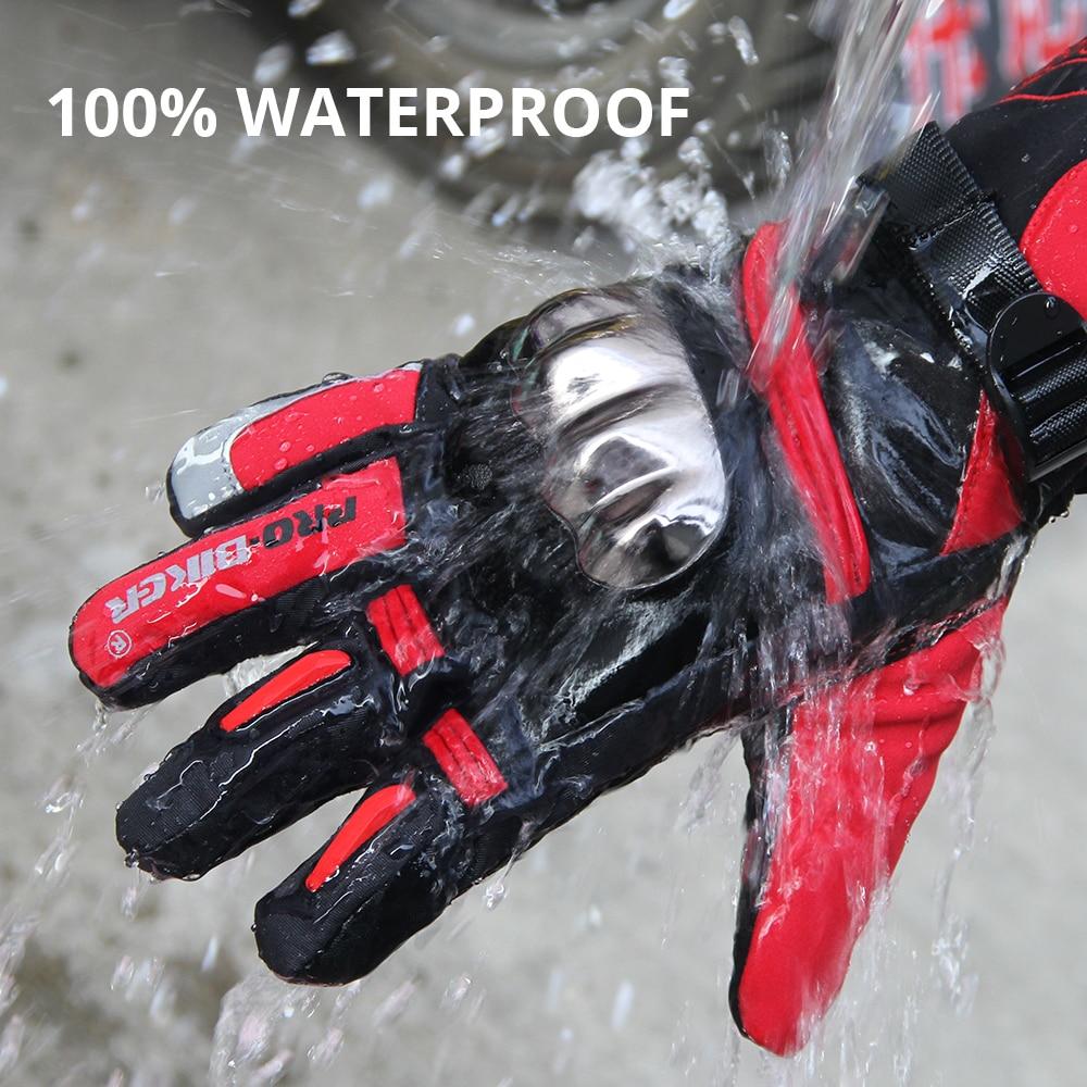 PRO-BIKER Motorcycle Gloves Winter Windproof Waterproof  Moto Gloves Motorbike Guantes Touch Screen Gant Moto Riding Gloves enlarge