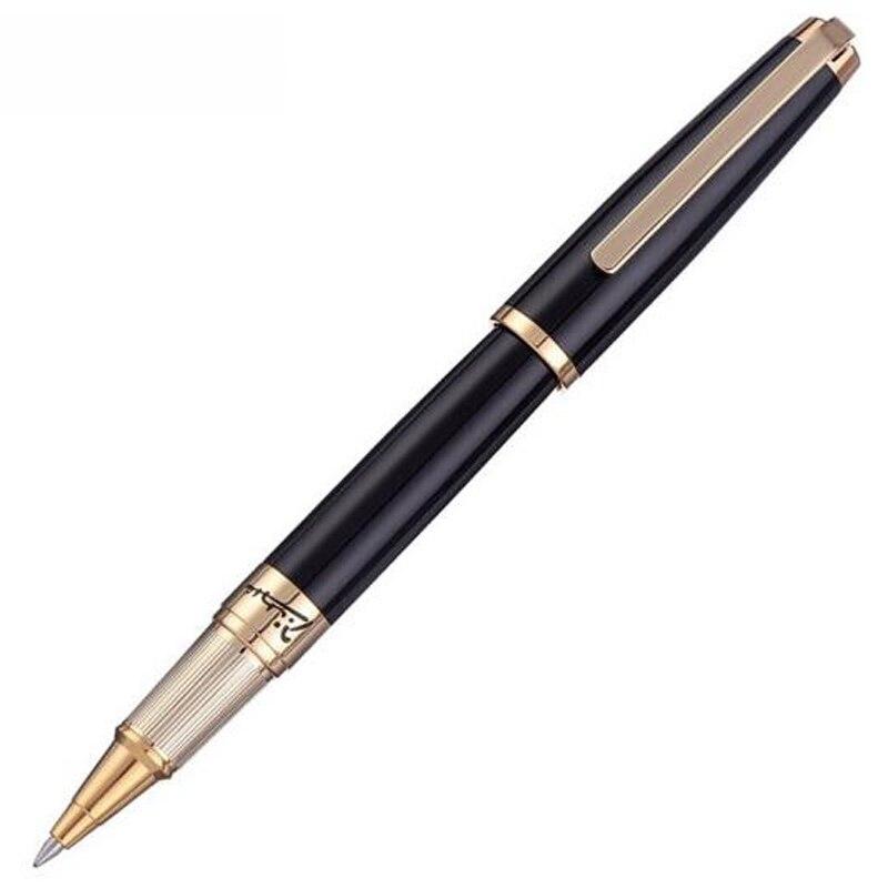 picasso 918 nobre pimio sonhador polka rolo preto bola caneta ouro guarnicao recarregavel