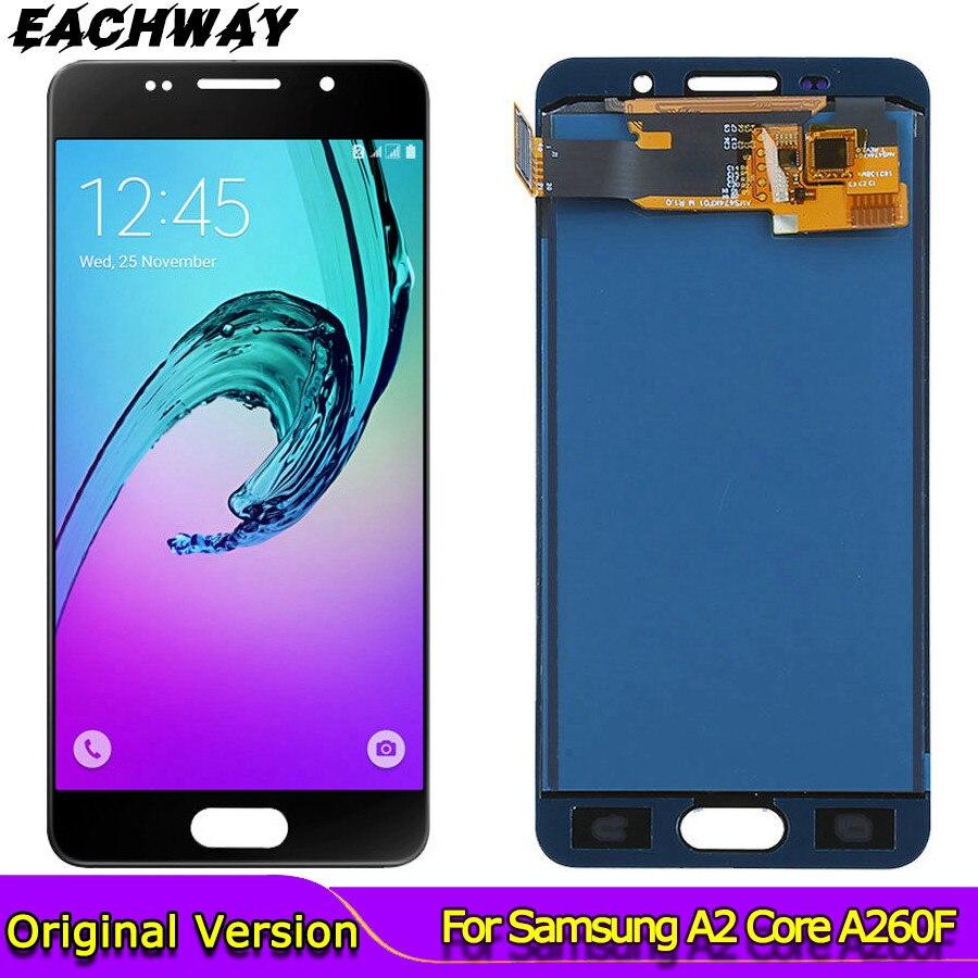 Pantalla LCD de prueba para Samsung Galaxy A3 2016 A310F pantalla táctil digitalizador pantalla LCD ajuste para Samsung A310 A310Y A310M montaje