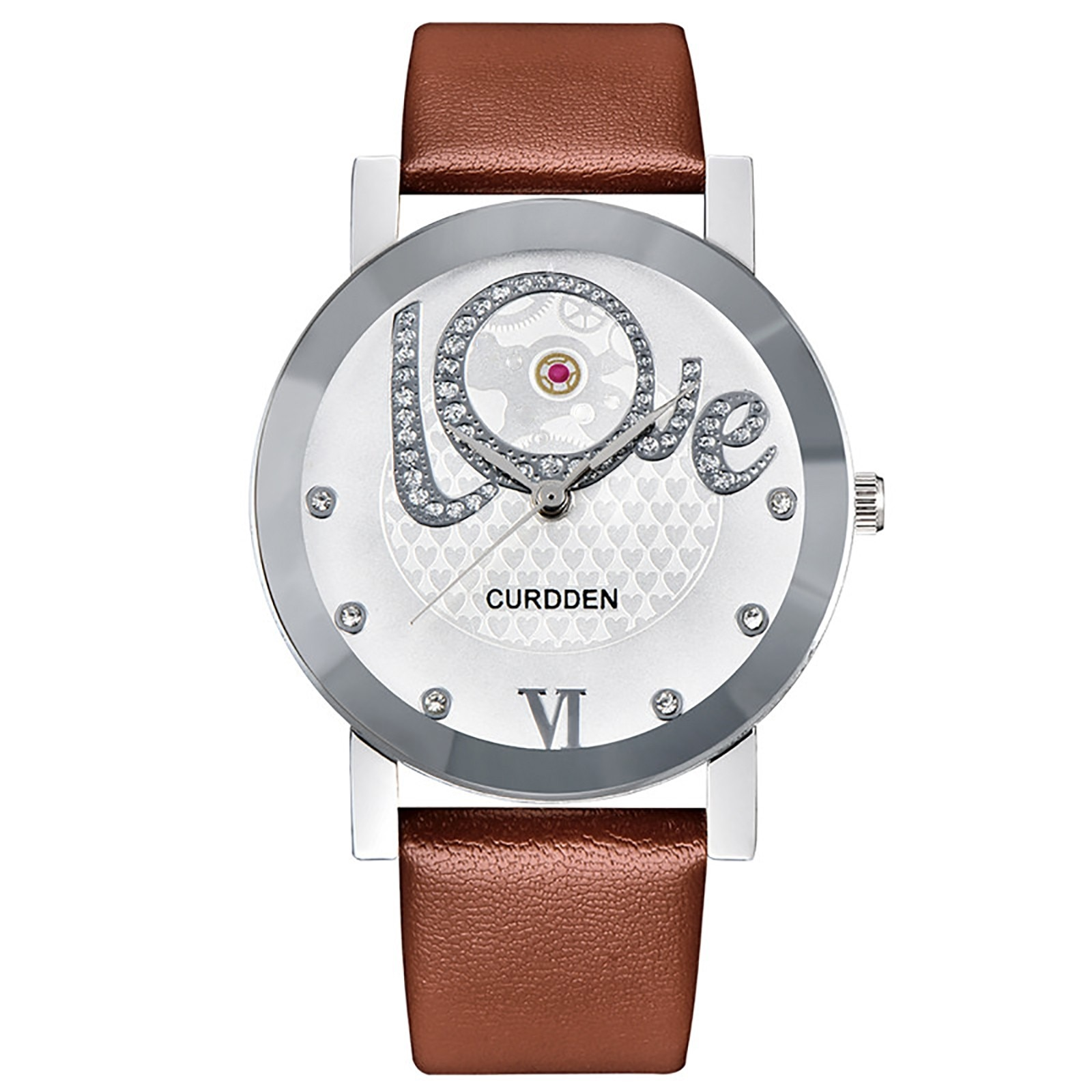 Watches Women Fashion Leather Strap Flower Female Clock Ladies Quartz Wrist Watch Montre Femme Relog