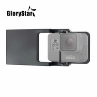Совместимая пластина крепления переключателя адаптер для Gopro 7 6 5 4 3 xiaoyi для dji Osmo Mobile Zhiyun Z1 плавный карданный Стабилизатор камеры