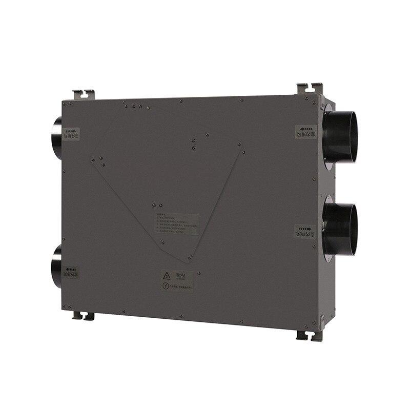 Ventilador de aire fresco de techo para uso doméstico y comercial, ventilador de techo central K400, sistema de aire fresco para intercambiador de aire oem