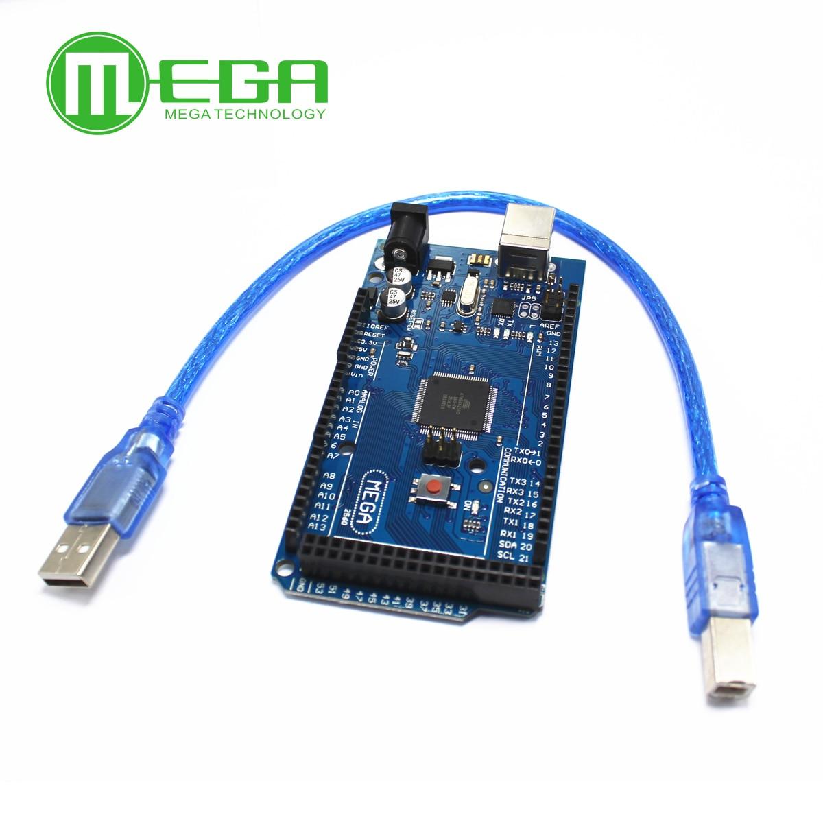 Mega 2560 R3 CH340G  Mega2560 REV3 ATmega2560-16AU Board 30CM cable