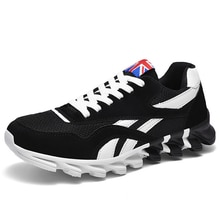 Men's Mesh Breathable Sneakers Casual Lace Up Outdoor Couples Gym Shoes Large Size  Zapatillas Hombr