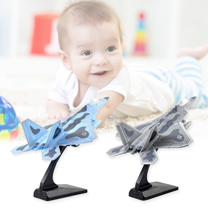 85DE Lighting and Sound Effects Aircraft Model, Engineering Plastic Alloy Model for Children Early Education plastic crimewave sound plastic crimewave sound no wonderland
