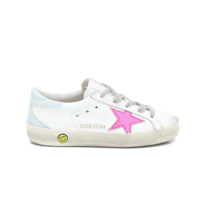 2021 Spring and Summer New First Layer Cowhide Children's Korean Version of The Old Little Dirty Girl Fashion Casual Shoes CS166 enlarge