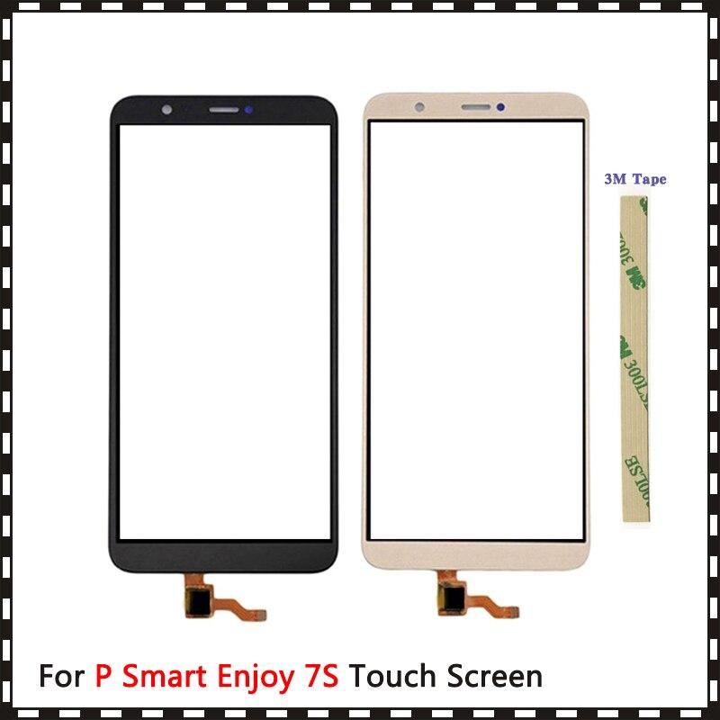 """5,65 """"Huawei P inteligente disfrutar S 7S FIG-LX1 FIG-LX2 FIG-LX3 FIG-LA1 Digitalizador de pantalla táctil Sensor de Lentes de vidrio exterior Panel"""