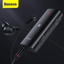 Baseus Bluetooth 5.0 récepteur 3.5mm APTX LL adaptateur AUX pour casque musique sans fil Bluetooth 3.5 Jack Audio récepteur