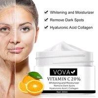 30ml whitening remove dark spots facial cream vitamin c 20 face cream repair fade freckles melanin remover brighten skin